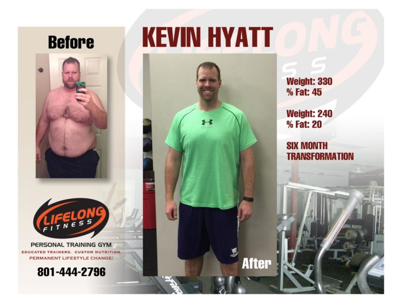 Kevin Before & After
